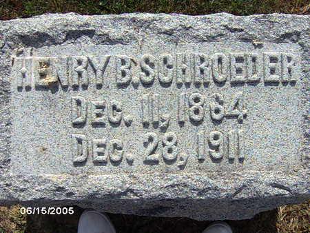 SCHROEDER, HENRY B - Clinton County, Iowa | HENRY B SCHROEDER