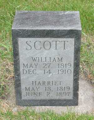 SCOTT, WILLIAM - Clinton County, Iowa | WILLIAM SCOTT