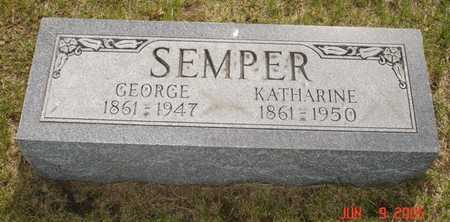 SEMPER, GEORGE - Clinton County, Iowa | GEORGE SEMPER