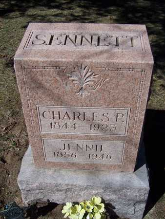 SENNETT, JENNIE - Clinton County, Iowa | JENNIE SENNETT