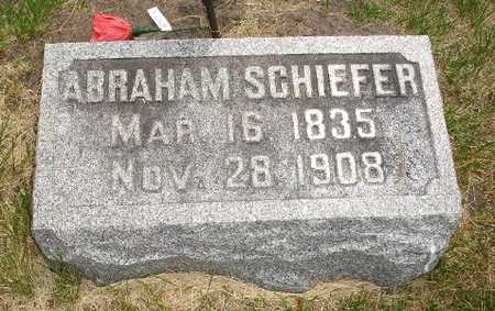 SHIEFER, ABRAHAM - Clinton County, Iowa | ABRAHAM SHIEFER