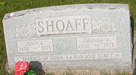 SHOAFF, AMANDA - Clinton County, Iowa | AMANDA SHOAFF
