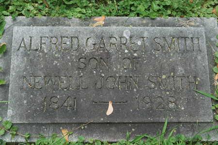 SMITH, ALFRED GARRET - Clinton County, Iowa   ALFRED GARRET SMITH