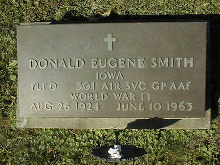 SMITH, DONALD EUGENE - Clinton County, Iowa | DONALD EUGENE SMITH