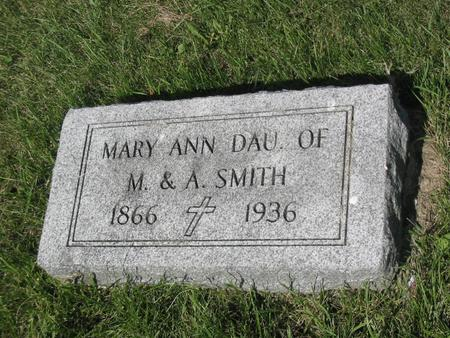 SMITH, MARY - Clinton County, Iowa | MARY SMITH