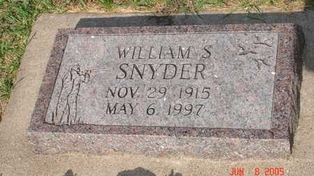 SNYDER, WILLIAM S. - Clinton County, Iowa | WILLIAM S. SNYDER