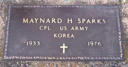 SPARKS, MAYNARD A. - Clinton County, Iowa | MAYNARD A. SPARKS