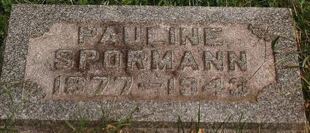 SPORMAN, PAULINE - Clinton County, Iowa | PAULINE SPORMAN
