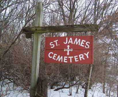 ST. JAMES (TORONTO), CEMETERY - Clinton County, Iowa | CEMETERY ST. JAMES (TORONTO)