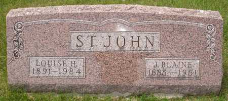 ST. JOHN, LOUISE H. - Clinton County, Iowa | LOUISE H. ST. JOHN