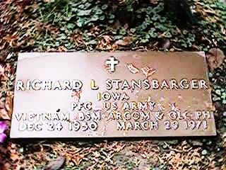 STANSBARGER, RICHARD L - Clinton County, Iowa | RICHARD L STANSBARGER