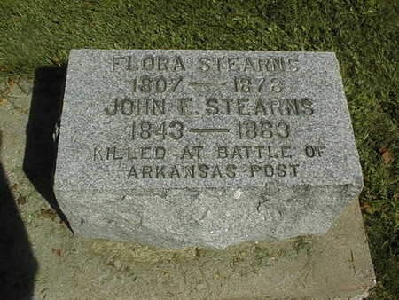 STEARNS, JOHN E. - Clinton County, Iowa | JOHN E. STEARNS