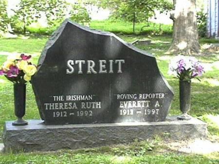 STREIT, EVERETT ALBERT & THERESA RUTH - Clinton County, Iowa   EVERETT ALBERT & THERESA RUTH STREIT