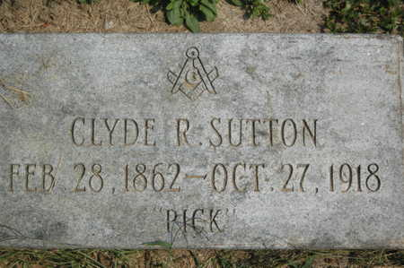 SUTTON, CLYDE R. - Clinton County, Iowa | CLYDE R. SUTTON
