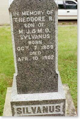SYLVANUS, THEODORE R. - Clinton County, Iowa | THEODORE R. SYLVANUS