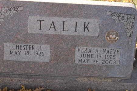 NAEVE TALIK, VERA A. - Clinton County, Iowa | VERA A. NAEVE TALIK