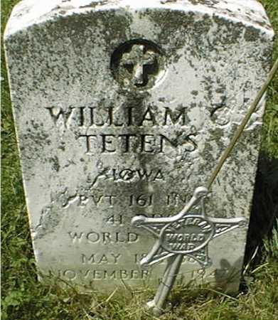 TETENS, PVT. WILLIAM C. - Clinton County, Iowa | PVT. WILLIAM C. TETENS