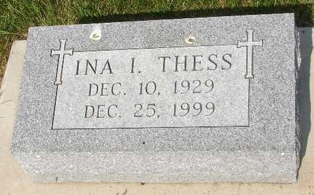 THESS, INA - Clinton County, Iowa | INA THESS