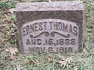 THOMAS, ERNEST - Clinton County, Iowa | ERNEST THOMAS