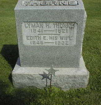 THORNE, EDITH E. - Clinton County, Iowa | EDITH E. THORNE