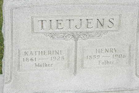 TIETJENS, HENRY - Clinton County, Iowa | HENRY TIETJENS