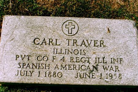 TRAVER, CARL BRITTEN - Clinton County, Iowa | CARL BRITTEN TRAVER