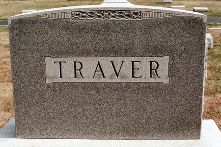 TRAVER, FAMILY MONUMENT - Clinton County, Iowa | FAMILY MONUMENT TRAVER