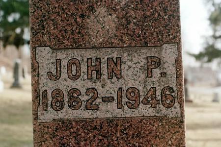 TRITSCHLER, JOHN P. - Clinton County, Iowa | JOHN P. TRITSCHLER