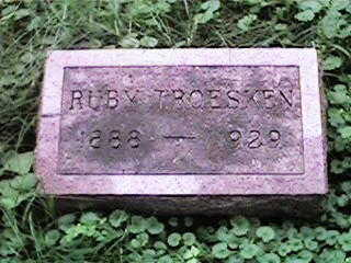 TROESKEN, RUBY - Clinton County, Iowa | RUBY TROESKEN