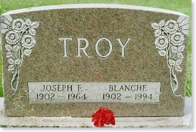 TROY, JOE & BLANCHE HAGEN - Clinton County, Iowa | JOE & BLANCHE HAGEN TROY