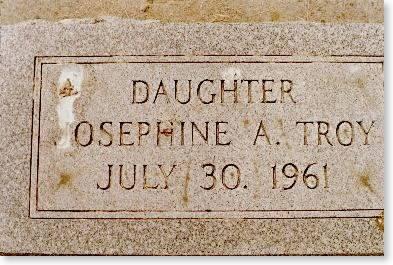 TROY, JOSEPHINE A. - Clinton County, Iowa | JOSEPHINE A. TROY
