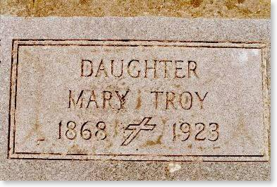 TROY, MARY - Clinton County, Iowa | MARY TROY