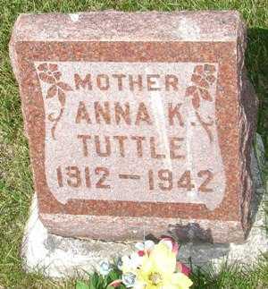 TUTTLE, ANNA - Clinton County, Iowa | ANNA TUTTLE