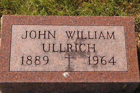 ULLRICH, JOHN WILLIAM - Clinton County, Iowa | JOHN WILLIAM ULLRICH