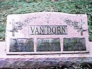 VAN DORN, BILLY SR. - Clinton County, Iowa | BILLY SR. VAN DORN