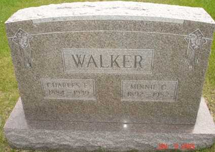 WALKER, MINNIE C. - Clinton County, Iowa | MINNIE C. WALKER