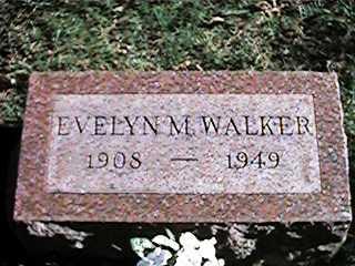 WALKER, EVELYN M - Clinton County, Iowa | EVELYN M WALKER