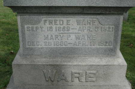 WARE, FRED E. - Clinton County, Iowa | FRED E. WARE