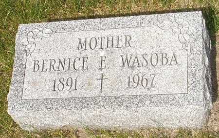 WASOBA, BERNICE E. - Clinton County, Iowa | BERNICE E. WASOBA