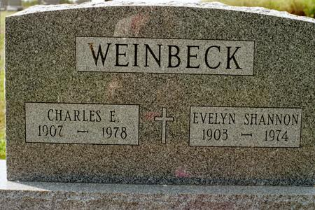 WEINBECK, EVELYN - Clinton County, Iowa | EVELYN WEINBECK