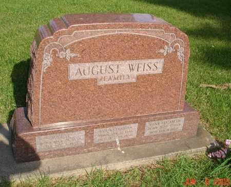 WEISS, AUGUST - Clinton County, Iowa | AUGUST WEISS