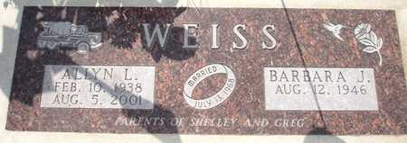 WEISS, BARBARA J. - Clinton County, Iowa | BARBARA J. WEISS