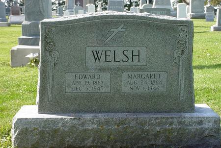 WELSH, MARGARET ELLEN - Clinton County, Iowa | MARGARET ELLEN WELSH