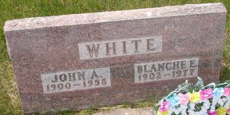 WHITE, BLANCHE E. - Clinton County, Iowa | BLANCHE E. WHITE