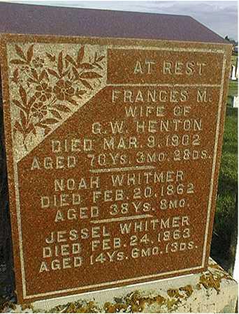 WHITMER, JESSEL - Clinton County, Iowa   JESSEL WHITMER