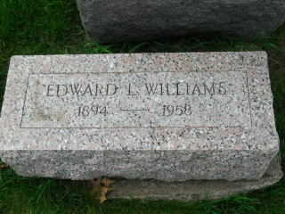 WILLIAMS, EDWARD L - Clinton County, Iowa | EDWARD L WILLIAMS
