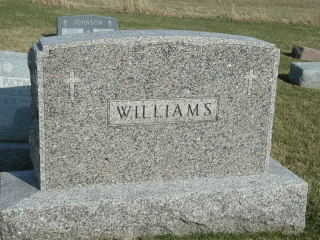 WILLIAMS, FAMILY STONE - Clinton County, Iowa | FAMILY STONE WILLIAMS