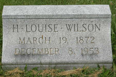 WILSON, H. LOUISE - Clinton County, Iowa | H. LOUISE WILSON