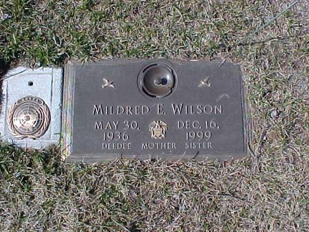 WILSON, MILDRED E. - Clinton County, Iowa | MILDRED E. WILSON