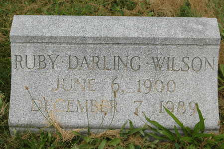 DARLING WILSON, RUBY - Clinton County, Iowa | RUBY DARLING WILSON